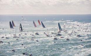 En 2016, 29 skippers avaient pris le départ du Vendée Globe (archives).