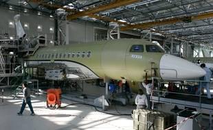 Des chantiers de rénovation d'avions seront accessibles au public dans le futur parc à thèmes.