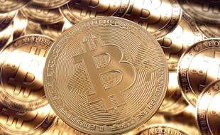 Illustration d'un Bitcoin.