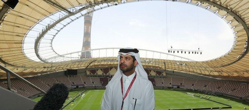 Nasser Al-Khater, responsable de l'organisation du Mondial 2022 au Qatar.