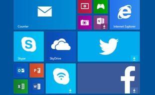 Le bureau moderne de Windows 8