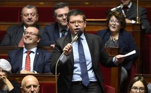 Luc Carvounas, à l'Assemblée nationale.