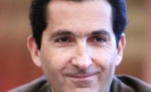 Patrick Drahi, principal actionnaire de Numericable, le 7 mars 2007 lors d'une conférence de presse à Paris