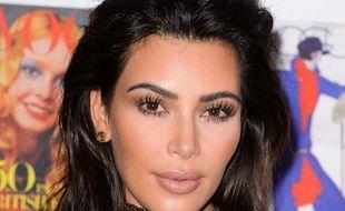 Kim Kardashian à un dîner de gala, à Londres, le 23 mai 2016.