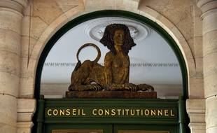 L'entrée du Conseil constitutionnel (image d'illustration).