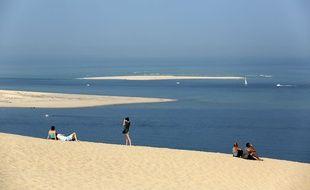 La dune du Pilat sur le Bassin d'Arcachon.