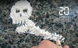 Illustration de cocaïne