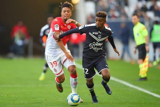 Le Bordelais Cafu face à Monaco.