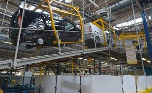 L'usine PSA d'Hordain en mars 2016