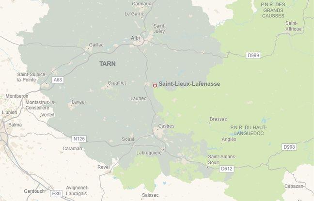L'accident mortel s'est produit à Saint-Lieux-Lafenasse, à l'ouest du Tarn.