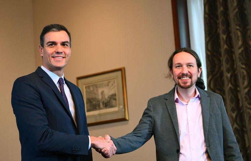 Espagne : Accord de principe pour former un gouvernement entre Pedro Sanchez et Podemos