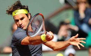 Roger Federer à Roland-Garros, en 2012