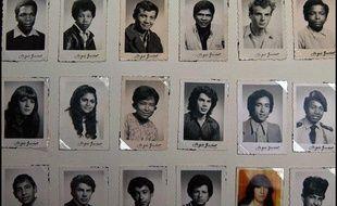 Des photos d'enfants réunionnais emmenés en métropole entre 1963 et 1982.