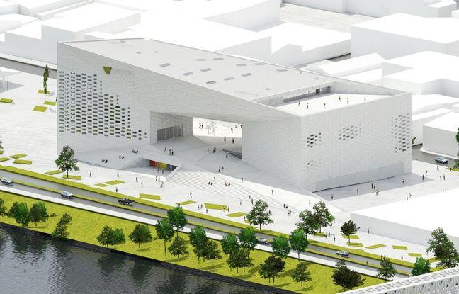 Bordeaux d couvrez en images le projet de la meca la maison de la culture - Maison de l architecture bordeaux ...
