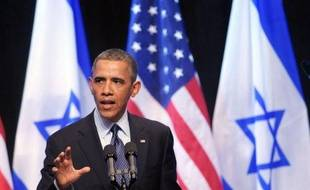 Au lendemain d'un appel direct aux Israéliens et aux Palestiniens à avancer vers la paix, le président américain Barack Obama va s'attaquer à la crise syrienne lors d'un bref passage en Jordanie.