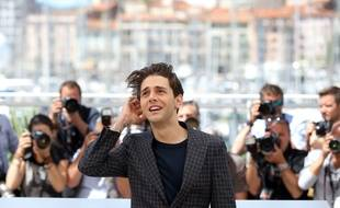 Xavier Dolan lors d'un «photo call» à Cannes, le 19 mai 2016.