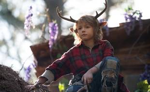 Christian Convery joue Gus, un petit garçon mi-humain, mi-cerf, dans « Sweet Tooth ».
