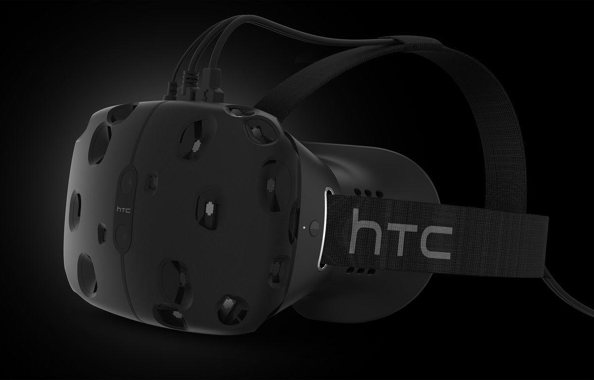 Le casque de réalité virtuelle HTC Vive. – HTC
