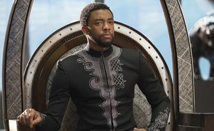 L'acteur Chadwick Boseman dans «Black Panther»