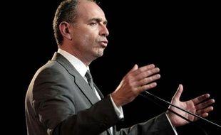 Le président de l'UMP Jean-François Copé lors d'un discours à Strasbourg, le 5 mars 2014