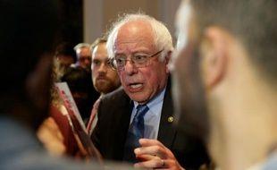 Le candidat à la primaire démocrate américaine Bernie Sanders à Baltimore, le 23 avril 2016