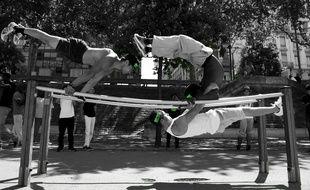 En France, le street workout a été lancé par l'association lyonnaise Body Art.