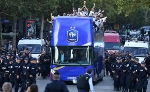 Les Bleus ont descendu les Champs-Elysées après leur victoire en finale de Coupe du monde