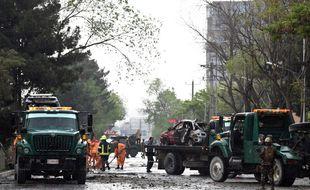 Au moins huit personnes ont été tuées mercredi à Kaboul dans l'attaque d'un convoi blindé de l'Otan, revendiquée par Daesh