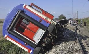Un train a déraillé en Turquie dimanche, dans la province de Tekirdag.