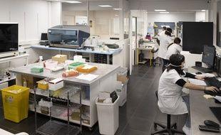 Illutration d'un laboratoire de recherche à Nice.