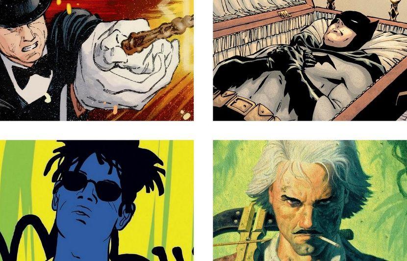 VIDEO. Des bulles dans le rétro: Magie sur Netflix, Batman est mort, Zaroff à l'envers et Basquiat rayonne