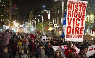 Quelques heures plus tard, les leaders étudiants ont lancé un ultime appel à la négociation pour mettre fin à la grève des cours contre la hausse des frais de scolarité, vieille de quatorze semaines.