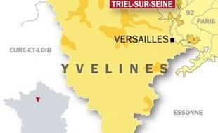 Un forcené est retranché chez lui, à Triel-sur-Seine, dans les Yvelines.