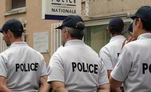 Des policiers à Ajaccio en Corse. (archives)