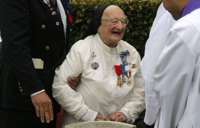 Dieppe: Sœur Agnès-Marie Valois, l'«ange blanc» des Canadiens lors du débarquement de Dieppe, est morte