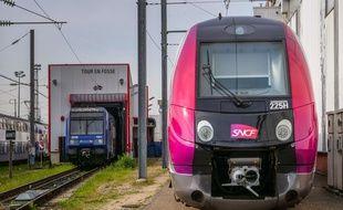 Image d'illustration de la SNCF.