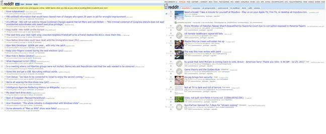 Dix ans après, Reddit a conservé son design de CM2.
