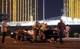 Un homme aurait ouvert le feu depuis l'hôtel Mandala Bay à Las Vegas