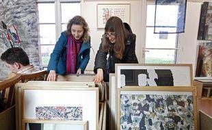 C'est un peu comme une bibliothèque, mais pour les oeuvres d'art. L'Inventaire est ce que l'on appelle une artothèque. on peut y emprunter de véritables oeuvres d'art pour les exposer chez-soi.