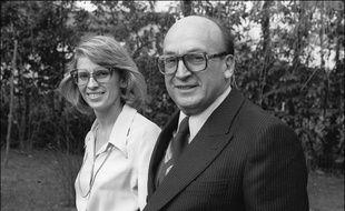 Bernard Marie et sa fille Michèle, le 13 février 1978.