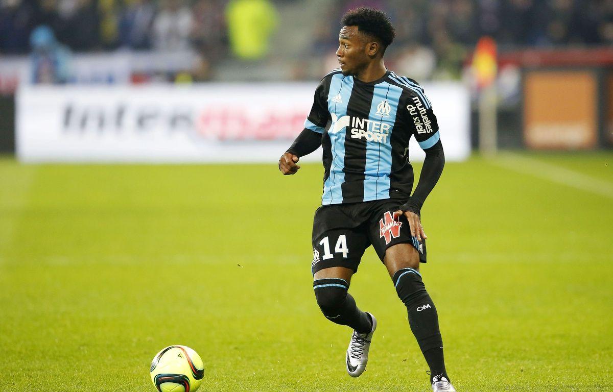 Le Marseillais Georges Kevin Nkoudou lors d'un match face à Lyon, le 24 janvier 2016.  –  FAYOLLE PASCAL/SIPA