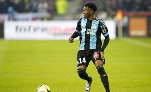 Le Marseillais Georges Kevin Nkoudou lors d'un match face à Lyon, le 24 janvier 2016.