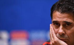 Fernando Hierro quitte la sélection espagnole.