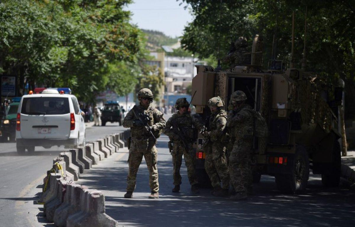 Des militaires déployés dans les rues de Kaboul – WAKIL KOHSAR / AFP