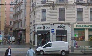 Un bureau de change a été braqué à Lyon, vendredi 24septembre 2010.