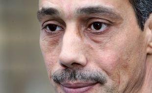 Paris, le 1er décembre 2008. Omar Raddad réclame la révision de son procès pour le «meurtre» de Ghislaine Marchal sur la base de nouvelles expertises ADN.