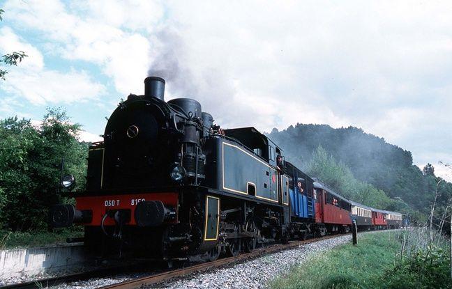 Le train à vapeur des Cévennes relie Anduze à Saint-Jean-du-Gard.