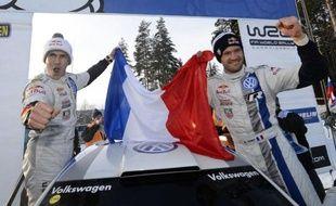 Le Français Sébastien Ogier (VW Polo R), après plus d'un an de disette consentie, s'est imposé de nouveau lors du Championnat du monde WRC, offrant dimanche en Suède un premier succès à Volkswagen et rejoignant son compatriote Sébastien Loeb (Citroën) au palmarès de cette épreuve.