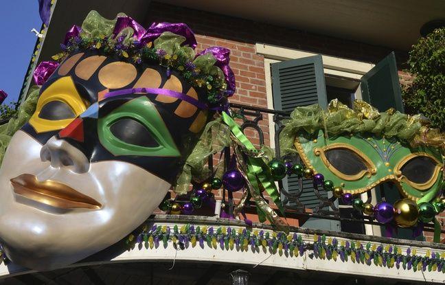 Lors du carnaval, la Nouvelle Orléans se pare de ses plus beaux atours.