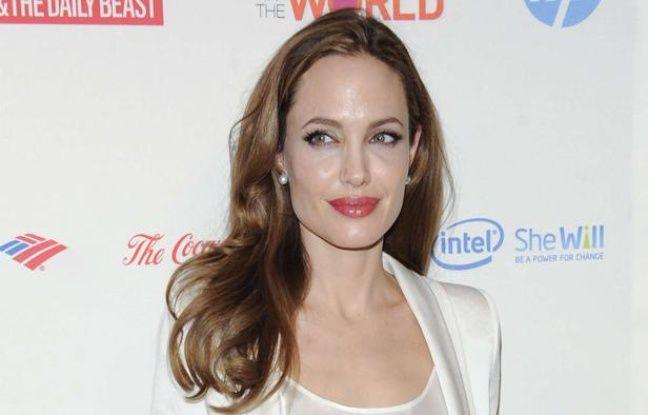 Angelina Jolie le 8 mars 2012 à New York.